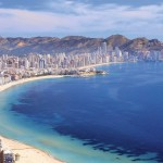 Benidorm beach is third most photographed beach in Spain