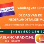 Koningsdag = dag van de NL-muziek op Costa Blanca radio