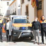 Xàbia (Javea) schenkt civiele bescherming 'quick response' pumper-voertuig